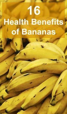 16 Health Benefits of Bananas