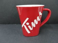 Tim Hortons 2013 Mug - Red - Canadian Limited Edition Tims