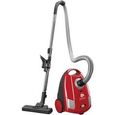 Dirt Devil Express Bagged Canister Vacuum, SD30035, Red