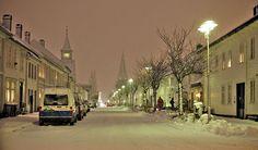 Winter in Kristiansand Norway Kristiansand Norway, Norway Viking, Vikings, Scotland, Street View, Snow, Winter, The Vikings, Winter Time