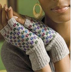 Knit Gloves: 7 Free Knitting Patterns for Gloves and Fingerless Gloves from Knitting Daily