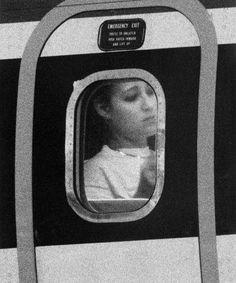 "John Schabel's   ""Passengers"" Voyeuristic Portraits series"