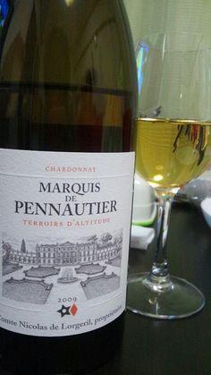 ワインフェスタで一目惚れの一本、ペノティエのシャルドネ  寒い時期は常温でも楽しめる一本