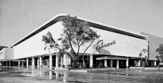 Robinson's - Beverly Hills (store # 02), 9900 Wilshire Boulevard, Beverly Hills, CA, (1952-2006, SF: 235,000).  In 1993, this store became Robinsons-May.  In 2006, it closed as part of Macy's May Company acquisition.