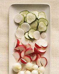 Superfast Salt and Sugar Pickles // More Pickled Vegetables: http://www.foodandwine.com/slideshows/pickled-vegetables #foodandwine