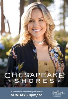 What's in store for Bree (Emilie Ullerup), now that her book has been published? Don't miss Chesapeake Shores' Season 4 premiere August 25 at on Hallmark Channel. Chesapeake Shores Hallmark, Meghan Ory, Cedar Cove, Now And Then Movie, August 25, Hallmark Movies, Hallmark Channel, New Shows, Season 4