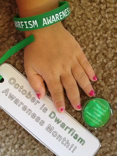 October is Dwarfism Awareness Month!!