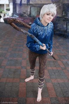 Rise Of The Guardians Cosplay - Jack Frost