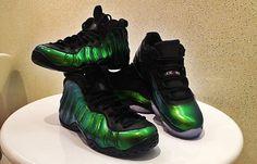"new arrival 96198 0bc7a Nike Air Foamposite One   Air Jordan 11 Low ""Emerald"" Custom First Air  Jordans"
