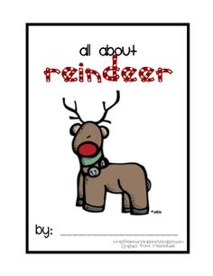 Free All About Reindeer book