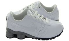 finest selection 1851d 17daa NEW TODDLER NIKE SHOX DELIVER SMS TD SHOES SIZE 10C WHITE 515025 100 NIB Bin  2
