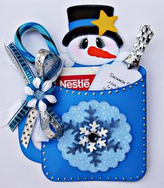 Handmade Christmas Hot Cocoa Treat Gift Card Holder with Paper Piecing by Sherri | eBay