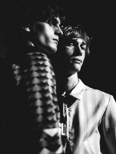 justdropithere:  Johan Gavelin & Truls Martinsson by Chloé Le Drezen - Backstage at Topman Design SS16