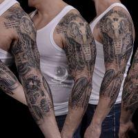Tattoo by Sebastian Żmijewski