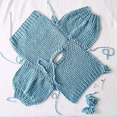 Knitting is the funnest. babykleidung Joining sweater parts at the underarm: Here comes the fun! Diy Crafts Knitting, Diy Crochet Projects, Sweater Knitting Patterns, Baby Knitting, Baby Kimono, Baby Sweater Patterns, Knitted Baby Cardigan, Crochet Baby Clothes, Baby Sweaters