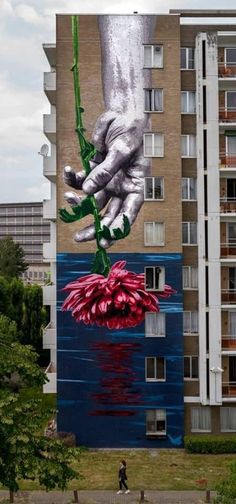 #painting #ideas #creative #wall #road #home #buildings #decorate Street Art Love, Street Wall Art, Urban Street Art, Best Street Art, Murals Street Art, Amazing Street Art, Street Art Graffiti, Mural Art, Amazing Art