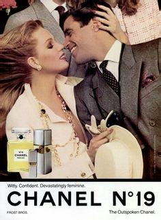 Chanel N°19 advertising #ParfumChanel #ChanelAdvertising #Chanel19 Visit…