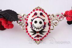 Goth Fairy Halloween Pagan Nightmare Before by DeidreDreams, $90.00