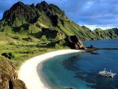 senggigi beach, indonesia..