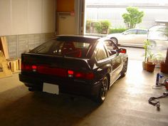 During a break ( HONDA CRX Si )