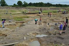 Introduction to Archaeology Field Trip 2012 - Silchester Excavations