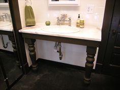 BATHtastic! Vanities:  From DIYNetwork.com from DIYnetwork.com