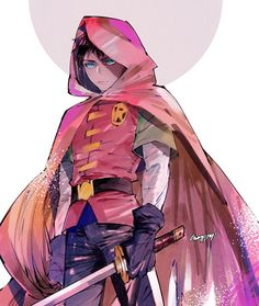 Robin #dc #dcuniverse Batwoman, Nightwing, Batgirl, Damian Wayne, Son Of Batman, Batman Robin, Gotham Batman, Batman Art, Batman Universe