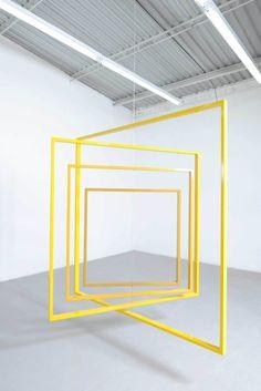 Jose Dávila's Sculptural Exhibition at Galería OMR  in Mexico City | Yellowtrace