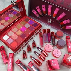 """4,020 Likes, 57 Comments - Jeffree Star Updates™ (@jeffreestarupdates) on Instagram: """"Love Sick / Blood Sugar This is probably one of my favorite collections... I can't stop staring…"""""""