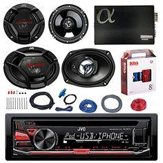 "JVC KD-R670 CD/MP3 AM/FM Radio Player Car Receiver Bundle Combo With 2x JVC 300W 6.5"" 2-Way Car Audio Speakers + 2x 6x9"" 3-Way Stereo Speaker + 1600 Watt Class A/B Amplifier + Boss 8g Amp Install Kit - http://www.caraccessoriesonlinemarket.com/jvc-kd-r670-cdmp3-amfm-radio-player-car-receiver-bundle-combo-with-2x-jvc-300w-6-5-2-way-car-audio-speakers-2x-6x9-3-way-stereo-speaker-1600-watt-class-ab-amplifier-boss-8g-amp-install-ki/  #1600, #2WAY, #300W, #3Way, #AMFM, #Amplifie"
