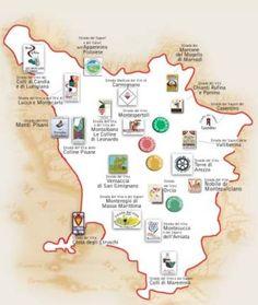 Tintos de la Toscana, variedad y buen gusto