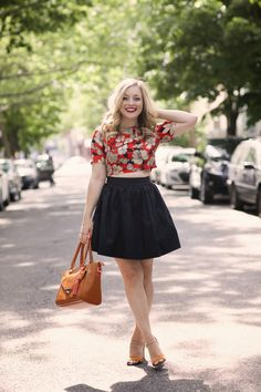 How to Wear a Crop Top (10 ways!) Rach Martino