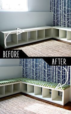 39 Clever DIY Furniture Hacks - Creative DIY Furniture Ideas Cool furniture hacks let you turn one thing into something else amazing. DIY furniture ideas for the home - bedroom, bath, kitchen and even outdoors. Diy Furniture Hacks, Repurposed Furniture, Furniture Making, Bedroom Furniture, Furniture Design, Furniture Stores, Homemade Furniture, Diy Bedroom, Ikea Furniture