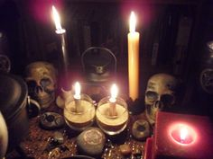 Altars Ancestors Ghosts Spirits:  A Pagan Ancestor Altar, for honoring and remembering the Dead.