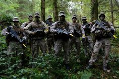 The team from the Queens Alexander Rifles, New Zealand Army