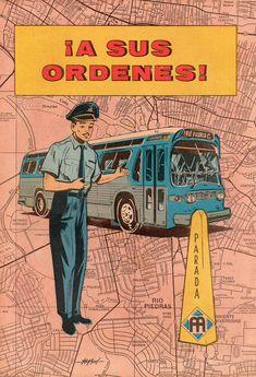 El propósito de este cómic era de explicar la importancia y la razón de ser de los autobuses en el área metropolitana de Puerto Rico. El mismo fue publicado en 1962 por la AMA (Autoridad Metropolitana de Autobuses). El arte fue realizado por Ismael Rodríguez Báez.