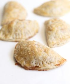 apple hand pies—filled with sugar and spice and everything nice! Just Desserts, Delicious Desserts, Dessert Recipes, Yummy Food, Dessert Tarts, Cherry Desserts, Tasty, Mcintosh Apples, Apple Hand Pies