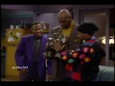 Martin    Martin is one of the greatest sitcoms in the 1990s. Starring stand-up comedian, Martin Lawrence. The show lasted for 5 straight seasons from 1992-1997 on Fox Thursday line-up starting at 8PM.    In this episode:  Martin and Gina fight over Gina's unusual February 14 gift, and the fight escalates out of control until they finally break ...