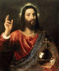 Titulo de la imágen Tiziano Vecellio - Christ Saviour