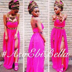 Ankara print mix fabric dress ~African fashion, Ankara, kitenge, African women dresses, African prints, Braids, Nigerian wedding, Ghanaian fashion, African wedding ~DKK