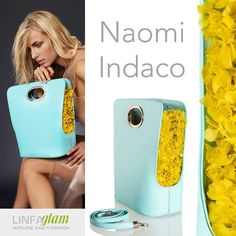 #LinfaGlam Naomi is in #LimpetShell and #Buttercup #colors from #Pantone #Spring2016 selection. #spring #spring16 #fashion #bags #madeinitaly #yellow #flowers #hydrangea #handbags #babyblue #borse2016 #primavera2016 #moda #moda2016 #ss2016