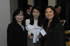 Three generations of Asians at the Asian Americans in Energy, the Environment, and Commerce (AE2C): Margaret Chu, retired President Bush appointee, Kasey Roh, a graduated student, and Judi Rhee Alloway, Imagine Leadership LLC President.  Lunar New Years Celebration 2/5/14