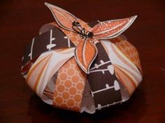 DIY  Paper Pumpkin DIY Fall Crafts DIY Halloween Décor