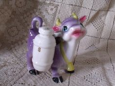 Shop for on Etsy, the place to express your creativity through the buying and selling of handmade and vintage goods. Purple Cow, Salt, Christmas Ornaments, Holiday Decor, Unique Jewelry, Handmade Gifts, Vintage, Etsy, Kid Craft Gifts