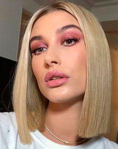 Coming Soon Hailey baldwin wearing pink eyeshadow and pink lipstick makeup Makeup Inspo, Makeup Inspiration, Makeup Tips, Eye Makeup, Hair Makeup, Makeup Brush, Makeup Trends, Makeup Products, Makeup Ideas