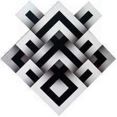 Con cuatro exposiciones alusivas al arte de Asia y tres del maestro Ómar Rayo, el Museo Rayo celebra sus 33 años. Op Art, Geometric Designs, Geometric Shapes, Banner Background Images, Barn Quilt Patterns, Dyi Crafts, Illusion Art, Silk Painting, Optical Illusions