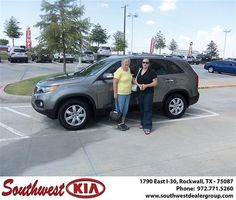 Congratulations to Barbara Sawyer on the 2013 #KIA #Sorento