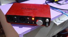 Broken Focusrite Scarlett Recording Interface ** Can Get Fixed ** Justin Bieber Company, Ebay