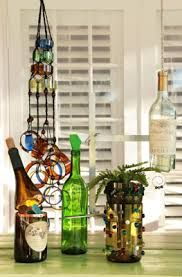 Turn old glass bottles and jars into fun, unique works of art. Delphi Glass, the… Old Glass Bottles, Recycled Bottles, Bottles And Jars, Recycled Glass, Bottle Candles, Wine Bottle Corks, Wine Bottle Crafts, Jar Crafts, Delphi Glass