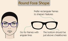 460066c6e9 A Visual Guide to Choose Eyeglass Frames for Your Face Shape